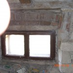 Old window and frame