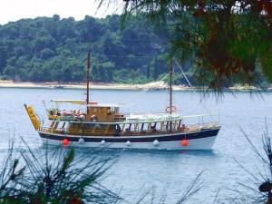 Boat trip to Limski
