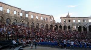 Pula amphitheatre - Arena
