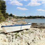 Rovinj - lone boat