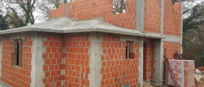 Brickwork Second Floor