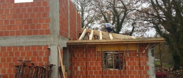 Brickwork bedroom