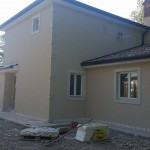 External walls painting