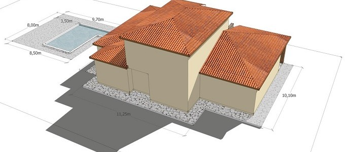 Plans rear aspect