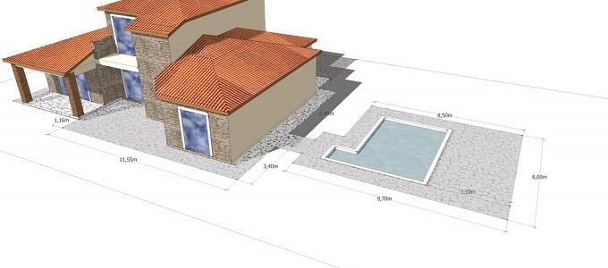 Plans front aspect