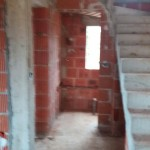 Brickwork and staircase