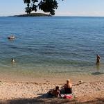 Poreč beach